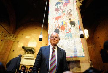 Il drappellone di Giannelli: le foto