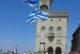 A San Marino il Gruppo sbandieratori di Canneti