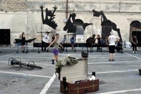 Il teatro musicale di strada in prima assoluta al 43° Cantiere