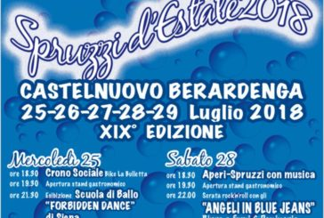 A Castelnuovo Berardenga XIX edizione di Spruzzi d'Estate