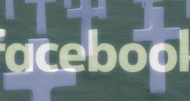 Facebook, come gli altri social, sta diventando un cimitero digitale
