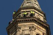 Fulmine su San Biagio: verifiche dei pompieri