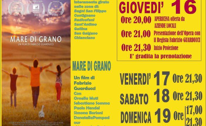 """Al Cinema Teatro Amiata arriva """"Mare di grano"""""""