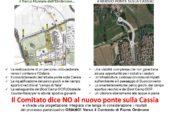 Nuovo ponte sulla Cassia: il Comitato chiede un confronto