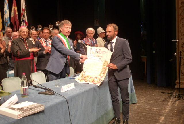 Consegnato il premio Mangia 2018 a Tommaso Fabbri