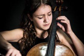 La violoncellista Giulia Attili in concerto a Palazzo Chigi