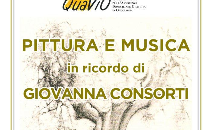 Musica e arte per la Quavio ricordando Giovanna Consorti
