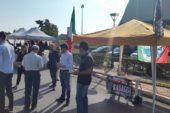 """""""No"""" alla fusione Torrita-Montepulciano: gazebo di FdI e Casaggì"""