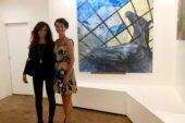 L'assessore Pugliese in visita alla mostra di Margit Platny