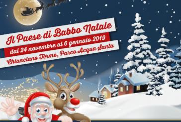 Chianciano Terme: presentata la V°edizione del Paese di Babbo Natale