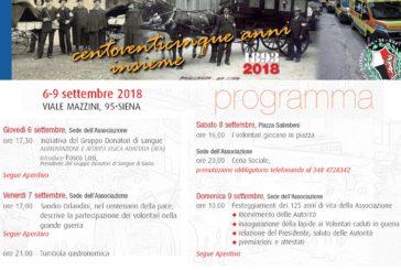 Pubblica Assistenza: 125 anni di volontariato