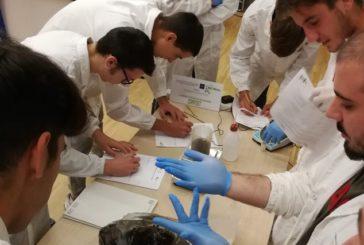 Gli studenti del Sarrocchi al lavoro per produrre uno spot video