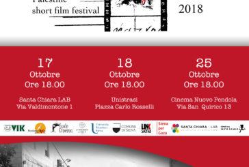 A Siena arriva la seconda edizione del Nazra Palestine Short Film Festival