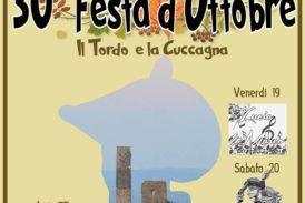 Torna la Festa d'ottobre: gastronomia, fiera, teatro e auto d'epoca