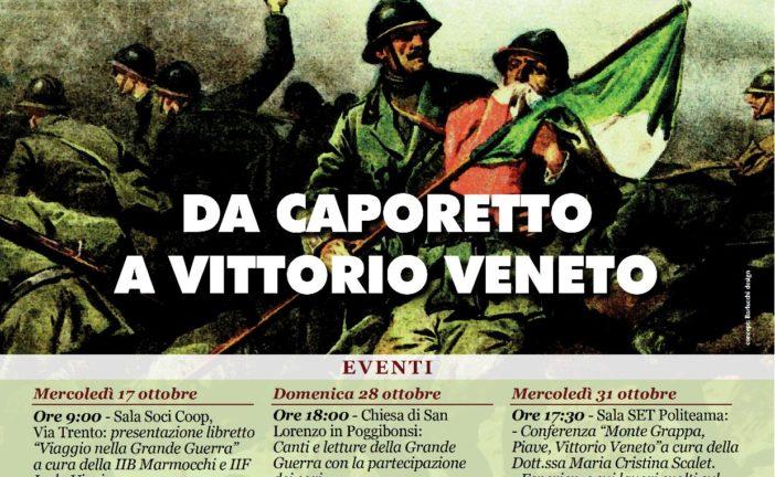 """""""Da Caporetto a Vittorio Veneto"""": Poggibonsi celebra la fine della Grande Guerra"""