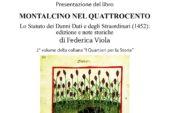 """""""Montalcino nel Quattrocento"""": si presenta il libro di Federica Viola"""