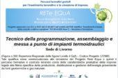 """Progetto """"Rete Equa"""": percorso formativo per tecnico termoidraulico"""