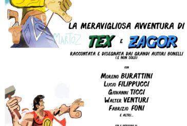 """Al Politeama """"La meravigliosa avventura"""" di Tex e Zagor"""