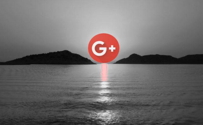 Addio, Google+. Non sentiremo la tua mancanza