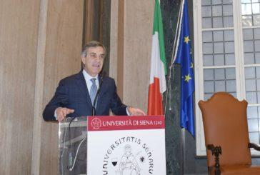 Lezione del prefetto Gradone all'Università di Siena