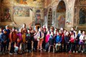 Gli alunni dell'elementare Pascoli in visita a Palazzo Pubblico
