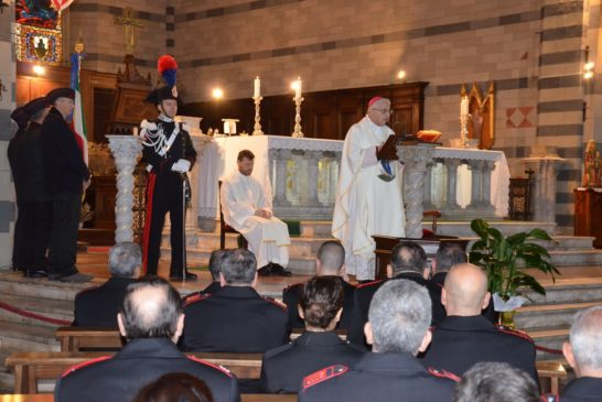 """""""Virgo fidelis"""". Celebrata a Siena la ricorrenza della patrona dei Carabinieri"""