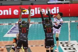 Volley: Siena perde 3-1 con la Lube