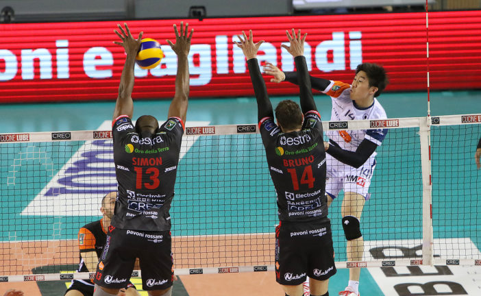 Volley: Siena perde 3-1 con la Lube
