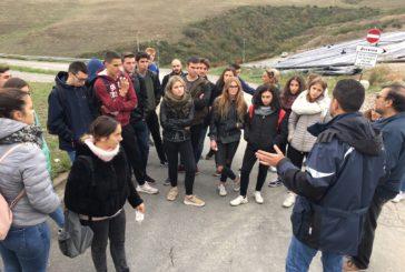 Gli studenti delSarrocchiin visita alla discarica di Abbadia