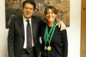 """Campionessa mondiale di tennis fra i docenti dell'Istituto """"B. Ricasoli"""""""
