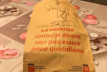 Dalla Cgil 30mila buste per il pane contro la violenza sulle donne