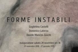 """""""Forme instabili"""" la nuova mostra a Spazio Siena"""