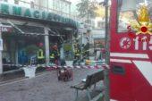 Incendio nella vetrina di una farmacia a Chianciano