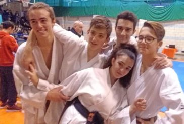 Nuove cinture nere per il Grifo karate