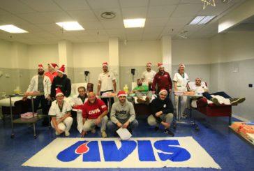 """Donazione di sangue """"natalizia per l'Avis Taverne e Arbia e l'Asta"""