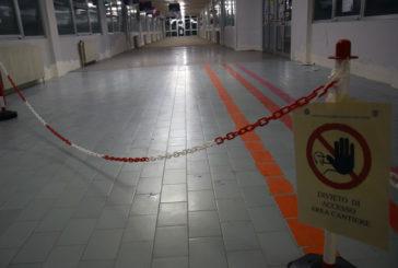Al via i lavori per la nuova pavimentazione all'ingresso dell'ospedale