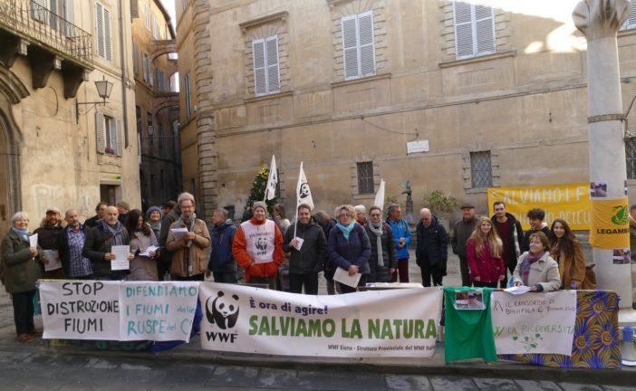 Gli ambientalisti protestano contro il Consorzio di Bonifica