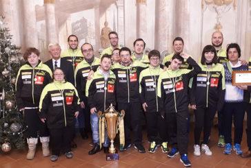La Fondazione Mps premia i vincitori del Campionato Europeo Baskin