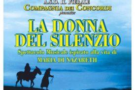 """""""La Donna del Silenzio"""": il nuovo spettacolo musicale dei Concordi"""