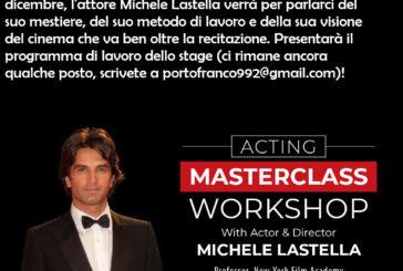 Stage di cinema a Portofranco e una conferenza di Lastella