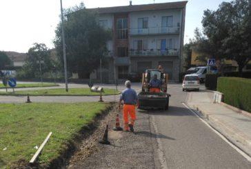 Ponte a Tressa e Cuna: nuove asfaltature
