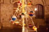 """Lo """"Spelacchio"""" del Natale di Siena"""