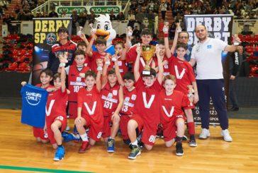 Virtus: il minibasket trionfa al trofeo della Befana