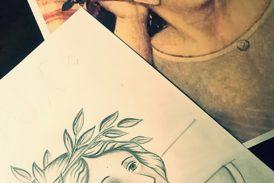 Le donne di Ambrogio Lorenzetti fonte di ispirazione per imparare a disegnare