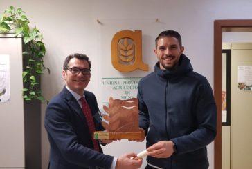 Upa assegna il premio Terra di Siena a Marino (Mens Sana)