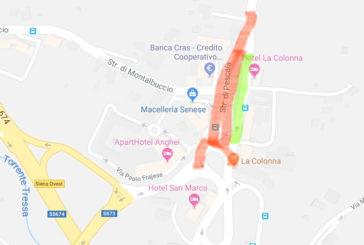 Una proposta per la viabilità  alla colonna di San Marco