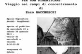 """""""Per non dimenticare"""", all'Accabì la mostra di Enzo Baccheschi"""