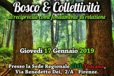 La Fai-Cisl dedica un convegno ai boschi della Toscana