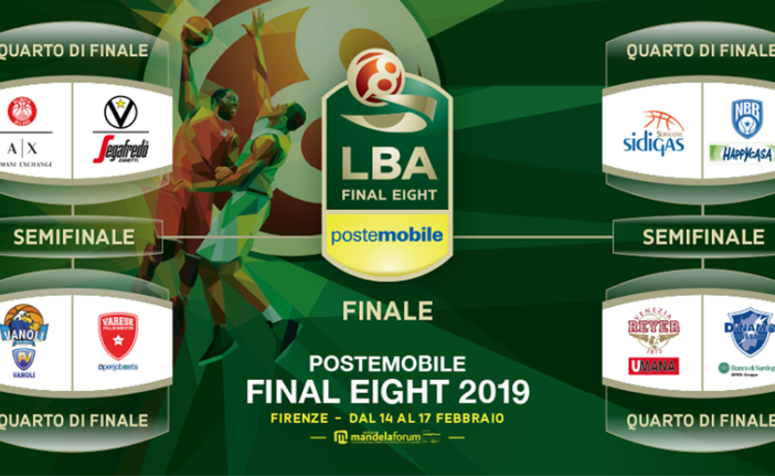 La final-eight di basket di Coppa Italia si gioca ancora a Firenze