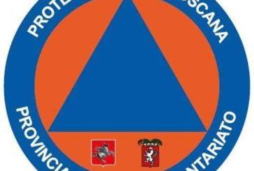 Il Volontariato di Protezione Civile ha assistito gli automobilisti bloccati sulla Siena-Grosseto